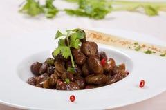 Китайская фасоль еды стоковые изображения rf