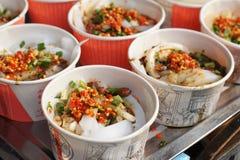 Китайская холодная тарелка - студень фасоли Стоковое фото RF