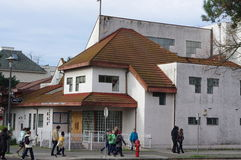 Китайская церковь в Vancouvers Чайна-тауне Стоковая Фотография RF