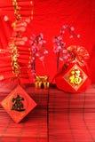 Китайская шутиха Новый Год Стоковые Фото