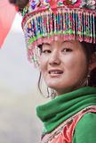 китайская этническая девушка Стоковое Изображение RF