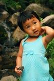 китайская девушка Стоковая Фотография RF