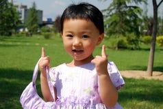 китайская девушка Стоковое Изображение