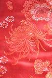 Китайская silk ткань Стоковые Фото