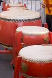 китайские барабанчики Стоковое фото RF