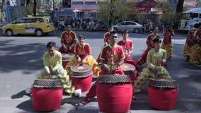 Китайские барабанщики видеоматериал