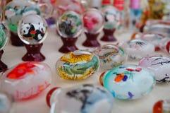 Китайские бутылки понюшки ремесел характеристики стоковые фото
