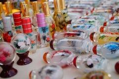 Китайские бутылки понюшки ремесел характеристики стоковая фотография