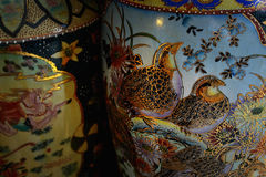 Китайские вазы пола Стоковые Изображения