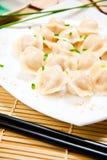Китайские вареники Стоковое Фото
