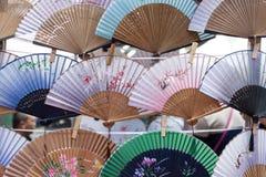китайские вентиляторы традиционные Стоковая Фотография RF