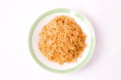 китайские высушенные шримсы еды малые Стоковое Фото