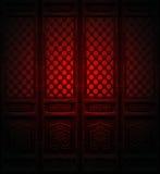 китайские двери Стоковая Фотография RF