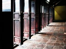 китайские двери Стоковые Фото