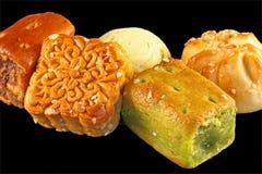 китайские десерты Стоковая Фотография