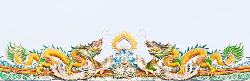 китайские драконы Стоковое Фото