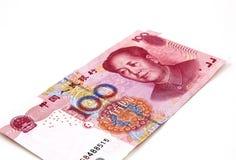 Китайские деньги юаней Стоковое Фото