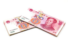 Китайские деньги юаней Стоковые Фото