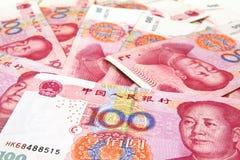 Китайские деньги юаней Стоковые Фотографии RF