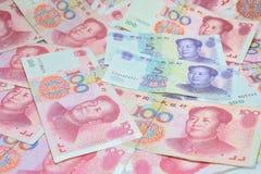 китайские деньги Стоковое фото RF