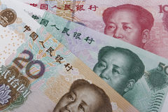 Китайские деньги (RMB) Стоковые Изображения RF