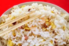Китайские жареные рисы Стоковые Изображения