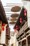 китайские исторические здания, дом Стоковые Фото