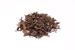 Китайские листья чая Стоковые Изображения RF