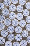 Китайские керамические плитки Стоковое Фото