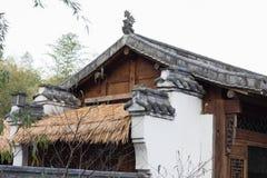 Китайские классические стрехи стиля Стоковое Фото