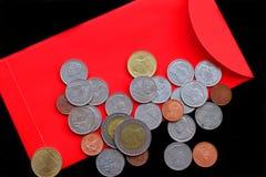 Китайские красные карманн Стоковое Изображение RF