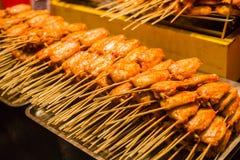 Китайские крыла жареного цыпленка Стоковое фото RF