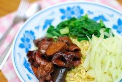 китайские лапши вводят vegetarian в моду Стоковые Фото