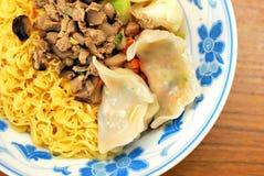 китайские лапши вводят vegetarian в моду Стоковое фото RF