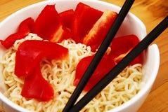 китайские лапши Стоковое Изображение RF