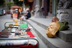 Китайские люди Handcraft Стоковая Фотография RF