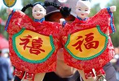 китайские марионетки Стоковые Изображения