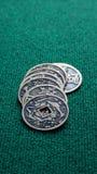 китайские монетки Стоковые Фотографии RF