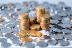 Китайские монетки RMB Стоковая Фотография