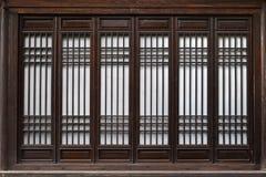 китайские окна Стоковые Фото