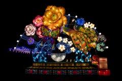 Китайские освещенные фонарики стоковые фотографии rf