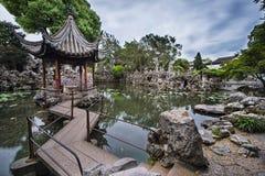 Китайские павильоны стоковые фотографии rf