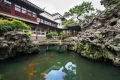 Китайские павильоны стоковое изображение