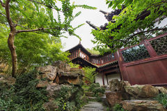 Китайские павильоны стоковое фото rf