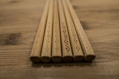 китайские палочки Стоковая Фотография