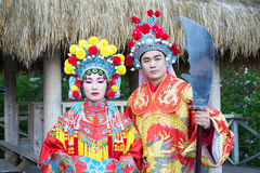 китайские пары Стоковая Фотография