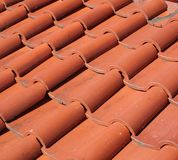 китайские плитки крыши традиционные Стоковое Фото