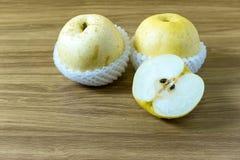 Китайские плодоовощ груши и здоровый Стоковая Фотография RF