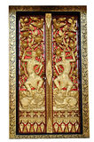 китайские портеры входа дверей Стоковые Фото