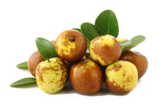 Китайские плодоовощи jujubes Стоковые Фотографии RF